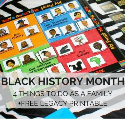 4 Things to do for Black History Month