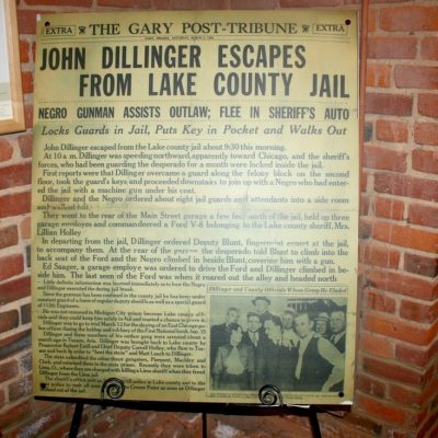 Visiting the John Dillinger Museum in Crown Point, Indiana