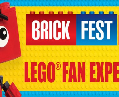 Brick Fest Live LEGO Fan Experience: A MILLION LEGO BRICKS