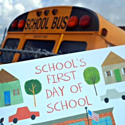 School's First Day of School Book Review