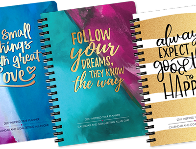 5 Things I Love About The Inspired Year Planner & Amazing Giveaway