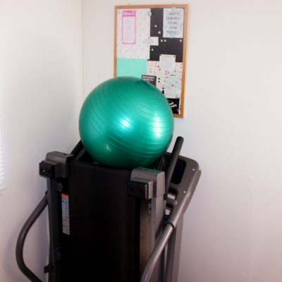 Weight Loss Wednesdays & My Gym Corner Make-Over Before Photo