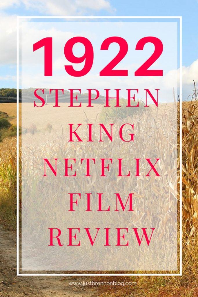 1922 Netflix