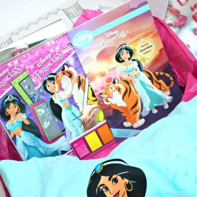 Paint a Whole New World with Princess Jasmine for Valentine's Day!