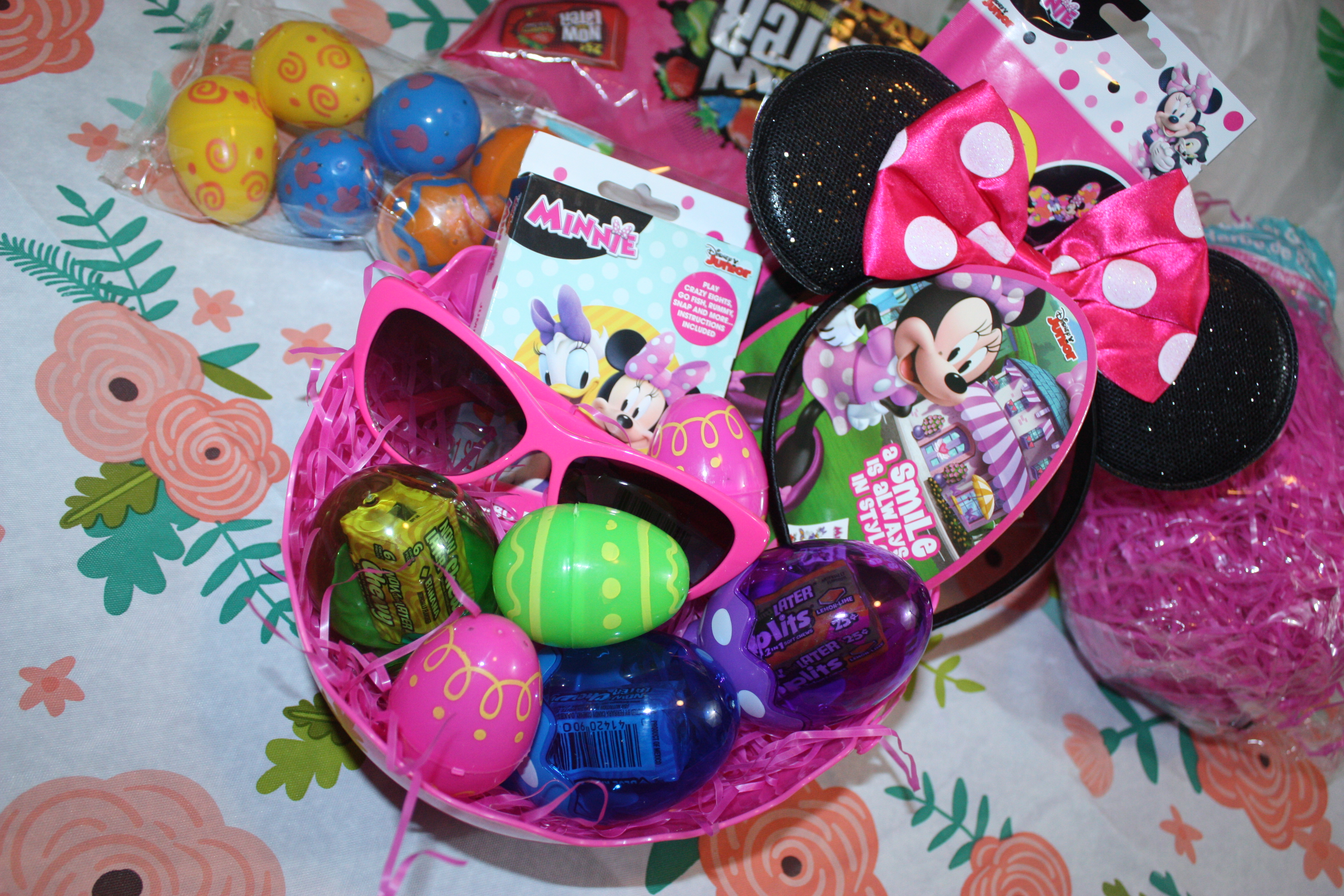 Minnie Mouse Disney Easter Basket 6 Just Brennon