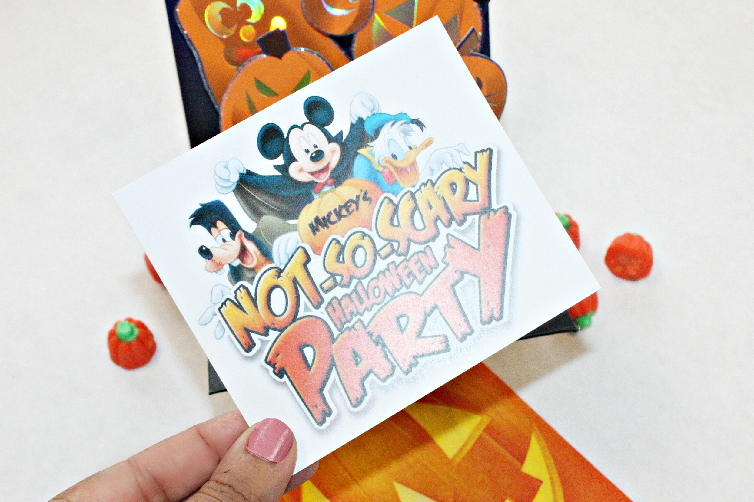 5 Ways You Can Bring Mickey's Not So Scary Halloween Party