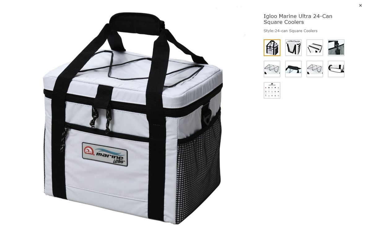 Igloo-Marine-Cooler-Bag-Amazon - Just Brennon